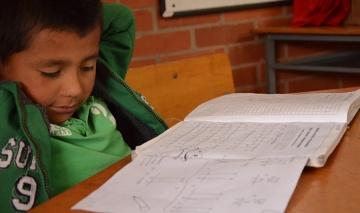 Aide aux devoirs dans un orphelinat Colombien lors de mon échange universitaire