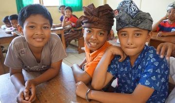 Ecole à Bali : éducation, valeurs et tradition