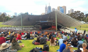 Free concert à Melbourne