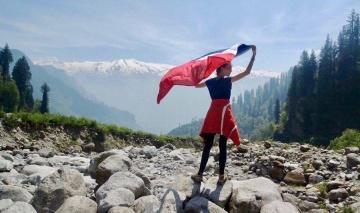 Top of the Himalayas !