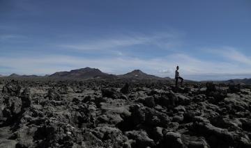 Walk on lava, it\'s possible.