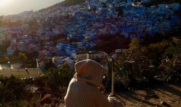Le bonheur contemplatif à Chefchaouen (Maroc)