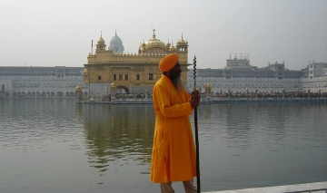 The Golden Temple of Amritsar in India is not only a spiritual place but also a symbol of human brotherhood and equality.